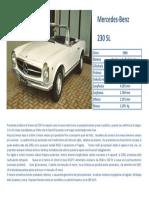 230 Sl Mercedes