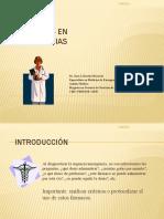 15. Farmacos en Urgencias