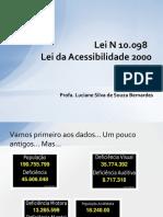 Unidade 5 Lei N 10098