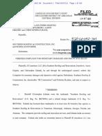 JS Jonesboro v. Southern Roofing & Construction - Complaint (sans exhibits)