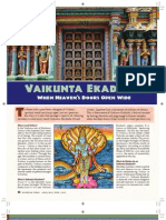 Vaikunta Ekadashi Hindu Festival