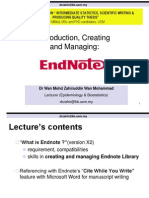 Lecture End Note