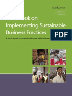Handbook Implementing Sustainable Business Practices