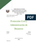 Defensa I - Protección Civil y Administración de Desastres