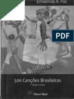 LIVRO_500 canções brasileiras