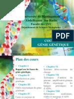 Cours 1 génie génétique