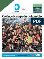 Edición Especial Colón Campeón