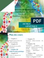 Cours 4 Génie Génétique
