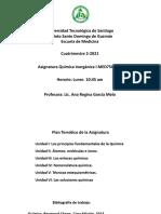 Presentación Inorgánica I-003 2-2021