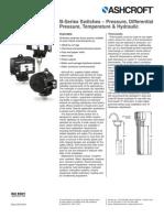 Ashcroft Pressure Switches