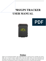 TK102 GPS tracker user manual