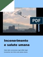 V7. Green Peace - Incenerimento e Salute Umana