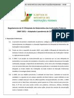 Regulamento OMIF 2021