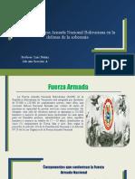 Rol de la Fuerza Armada Nacional Bolivariana en