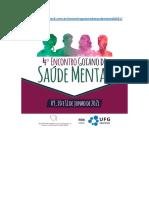 Programação ATUALIZADA- 4º Encontro Goiano de Saúde Mental_remoto 18_05