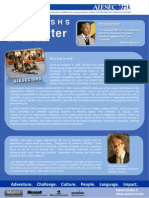 AIESEC SHS Newsletter;  Issue 1, 2011