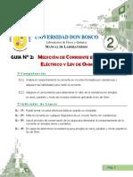 GUIA 2 ELECTRICIDAD Y MAGNETISMO