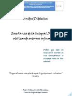 Enseñanza de la Integral Definida Utilizando Entornos Informáticos