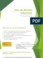 Gestion de Déchets Industriels Gabon