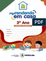Aprendendo Em Casa - Caderno 3º Ano Integrado 1 - 2021 (1)