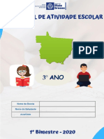 ATIVIDADES DE PORTUGUES