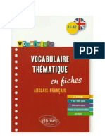 vocabulary English French elementary