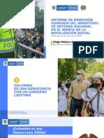 Informe de DD.HH. MDN Movilización Social
