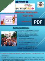actividad del area educacion religiosa 4°A1 Y 4°A2 sesion n°4