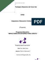 Programa Educativo Explorando mi tierra