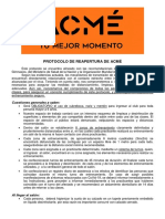 ACMÉ Protocolo