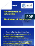 Networks and Internet
