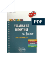 Vocabulary intermediate English French