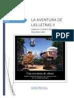 La Aventura de Las Letras II 2021 Libro Lengua