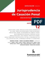 Matías Bailone - Jurisprudencia de Casación Penal. Justicia Federal, t. 12