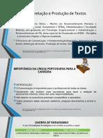 Interpretação e Produtação de textos - UNIP - 1a Unid