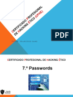33 Passwords Guessing y Cracking