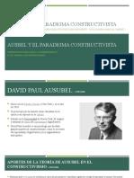 4 Ausbel y El Paradigma Constructivista