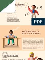 EDUCACION AUDITIVA