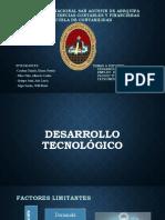 DESARROLLO TECNOLOGICO, EMPLEO DE RECURSOS Y PATRONES DE MEDICION-GRUPO N°4 (2)