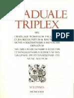 Graduale Tripex