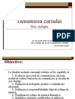 Curs formator  PPT