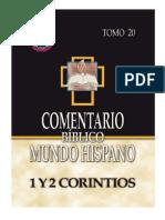Comentario Biblico Mundo Hispano Tomo 20 1 y 2 Corintios