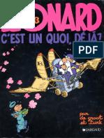 Léonard - T3 - c'est un quoi déjà