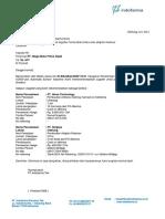 001-SBU-DME-VI-2021 PT. Niaga Mutu Prima Sejati