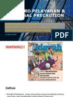 Pradik Dimas Standard Pelayanan Dan Univ Precaution