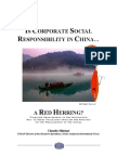 CSR in China
