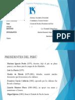 Guerra Del Paficifo- Presidentes Del Peru