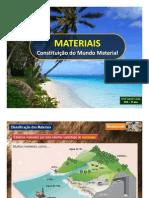 PP - Materiais - Constituição do Mundo Material