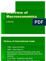 Overview of Macroeconomics