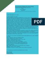 Guía de Análisis para la Novela Calígine de Carlos Pérez